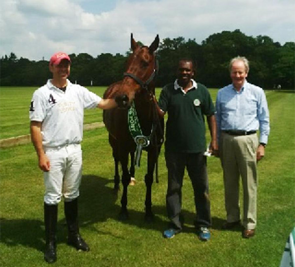 Florentina, Pedro de Lamare, Luiz and Lord Phillimore, Margaret Duvall Cup, June 2014