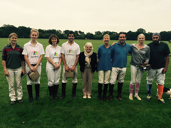 Polo Manager's Trophy Wooden Spoon: De Nada & Home Farm