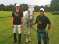 Oscar Wehtje & Paloma, Best Playing Pony, June Tournament 2014